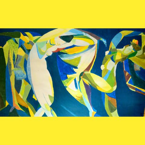 Danse Colorée | Gouache