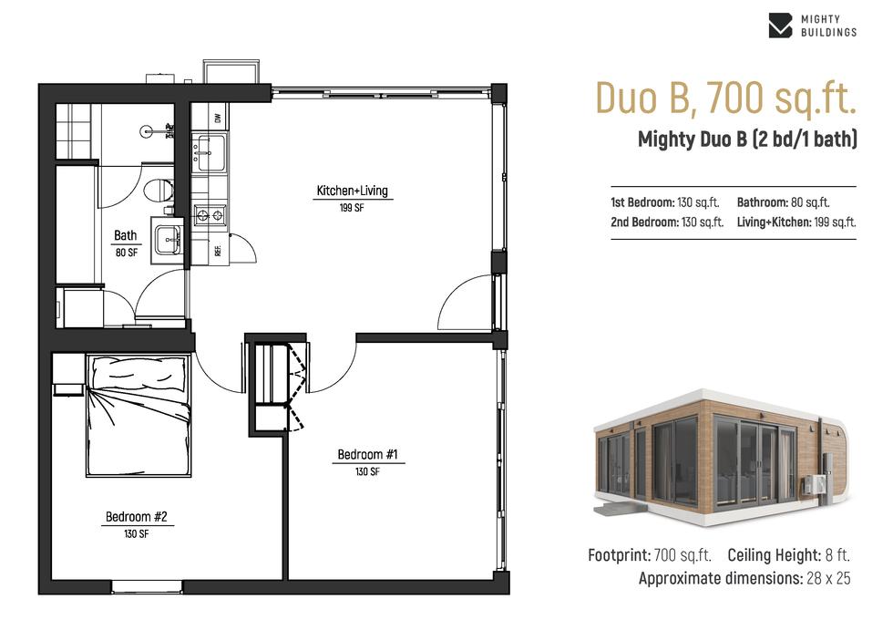Duo B - Floorplan