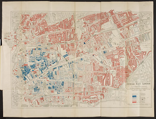 12 - Jewish East London, a map by George