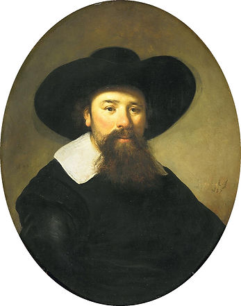 4 - Portrait thought to be R' Manasseh b