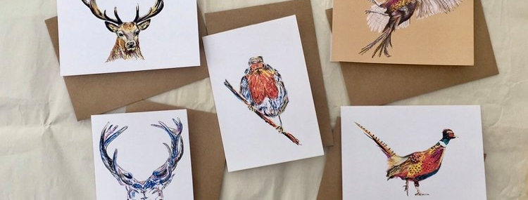 Christmas Cards Pack of 5 Assorted