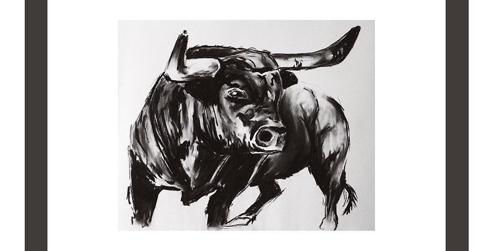 Charcoal Bull No.1