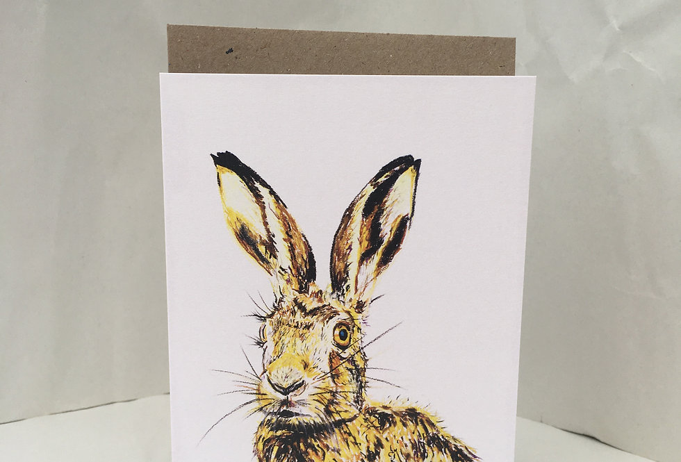 Greeting Card Hector The Hare