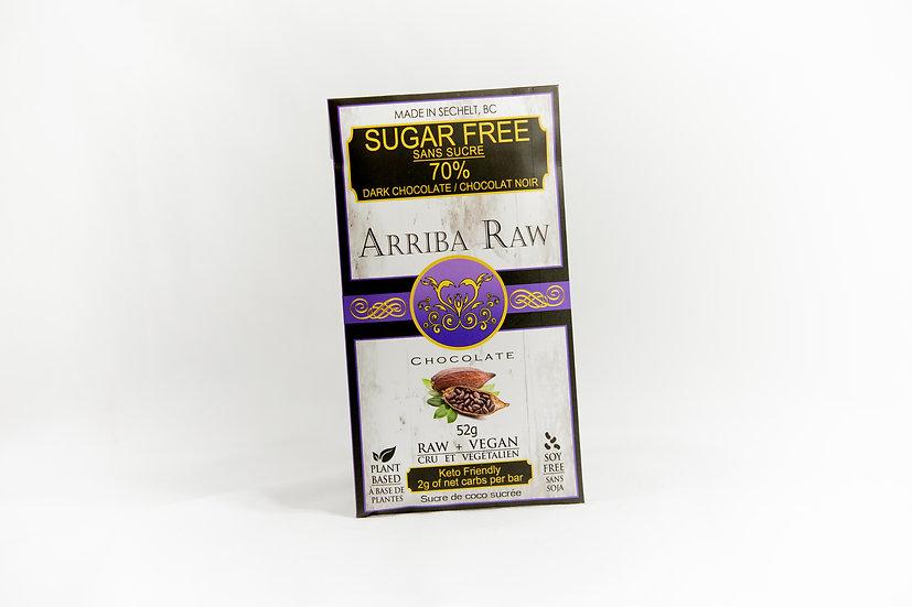 70% Sugar Free Chocolate (Keto Friendly)