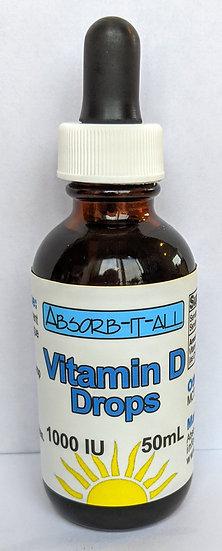 Vitamin D Drops 1000IU