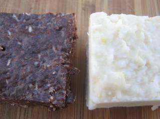 Coconut Citrus and Chocolate Peppermint Fudge