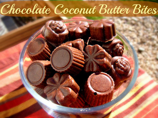 Raw Chocolate Coconut Butter Bites