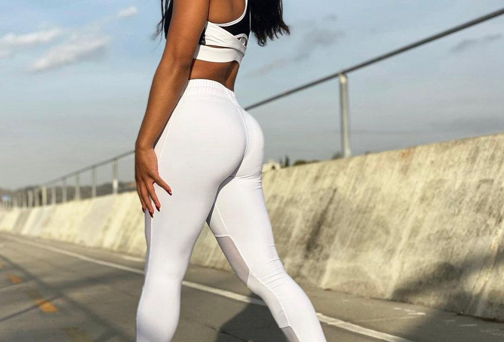 White Athletic Leggings