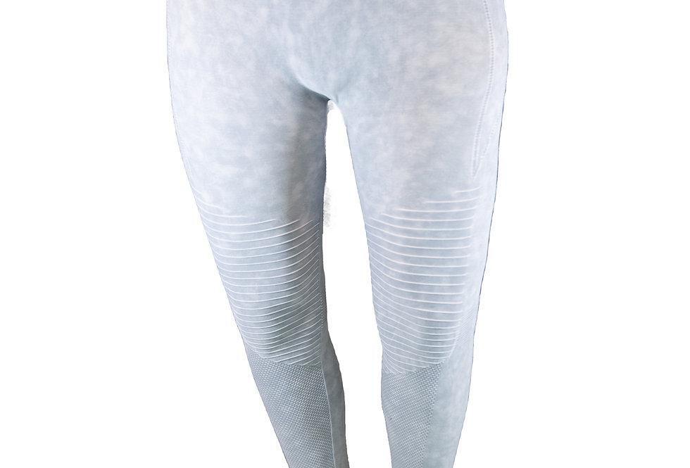 Grey Vintage Wash Leggings