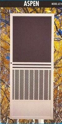 Swinging Screen Doors are custom built durable to last longer. Increase airflow an efficiency.