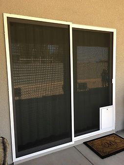 Slidng Screen Doors for your patio are custom built wth heavy-duty materials. Durable to last longer.