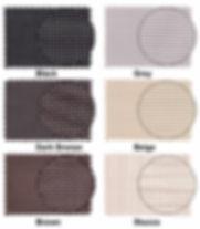 Suntex Sunscreen colors available in custom options
