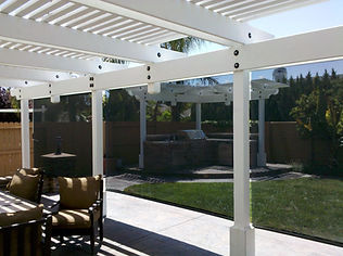 Exterior Roll Shades increase privacy and decrease harmful UV rays