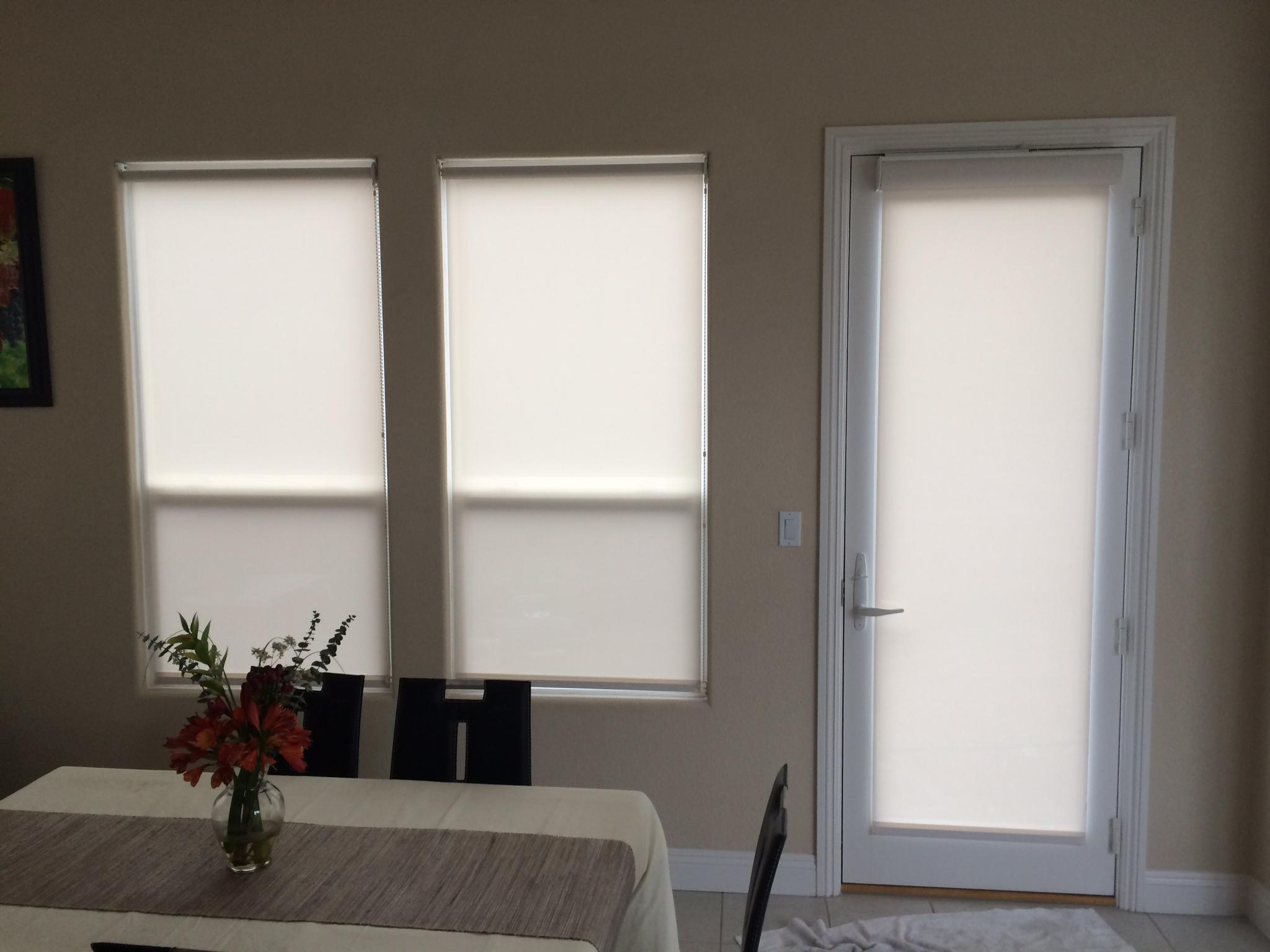 Interior / Exterior Roll Shades
