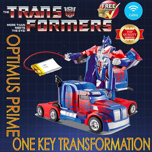 Optimus Prime Transformer Truck