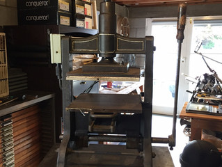 1884 Foil BLocking Press