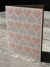 letterpress greeting card