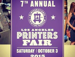 7th Annual Los Angeles Printers Fair