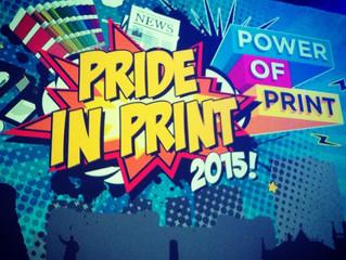 Pride in Print Awards 2015