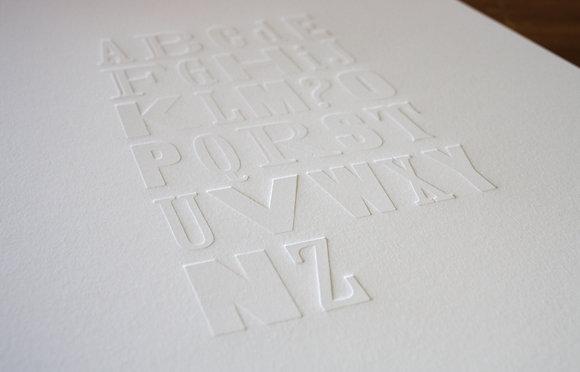 """""""NZ Alphabet ?"""" A3 Print"""
