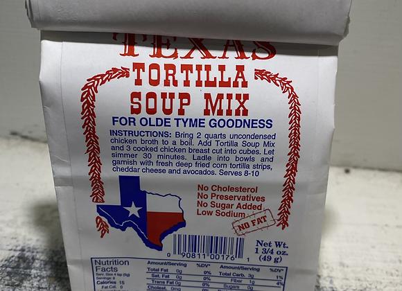 Texas Tortilla Soup Mix