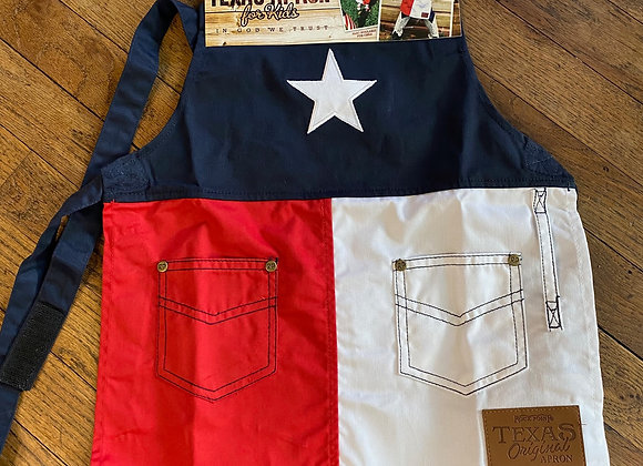 Texas Flag Kid's Apron