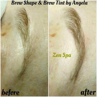 Brow Shape & Tint