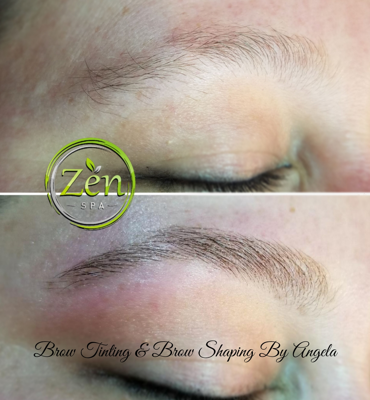 Brow Tinting & Shaping