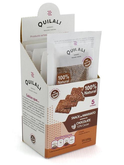 Snack Chocolate 53% Caja de 5 unidades
