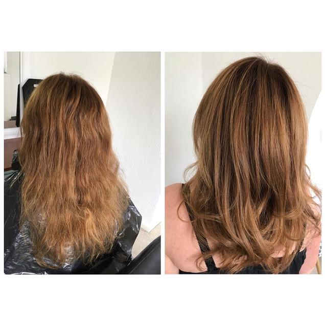 Natalie - colour and cut