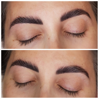 Keratin Brow Lamination, Brow Tint and Brow Tidy