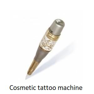 Cosmetic tattoo machine