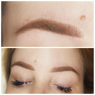 The Soft Powder Brow Tattoo.
