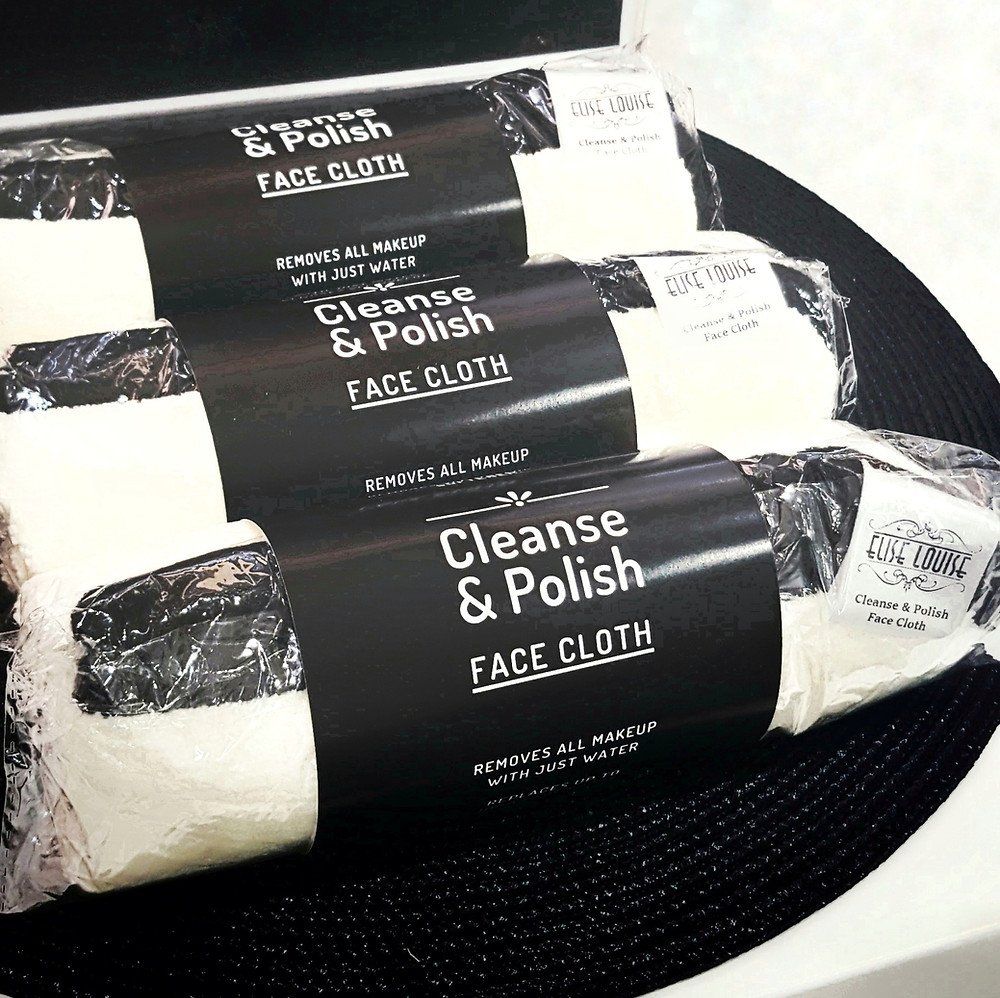 The Cleanse & Polish Face Cloth by Elise Louise