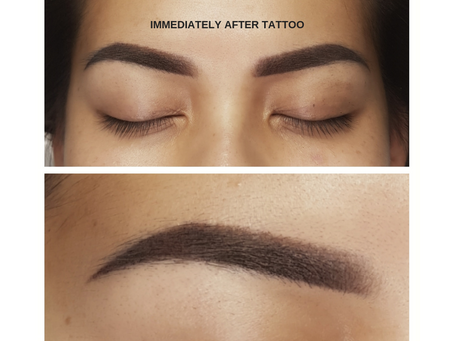 Taking Time Off? Why That's The PERFECT Time To Get Your Eyebrows Tattooed