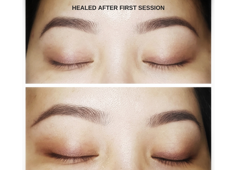 What Is The Ombre Brow Tattoo?