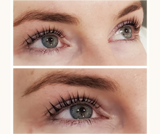 Keratin Lash Lift and Tint