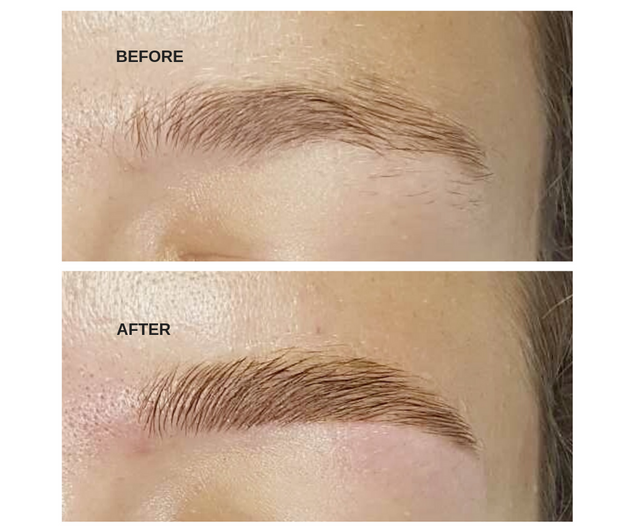 Expert Brow Shaping and Tinting.