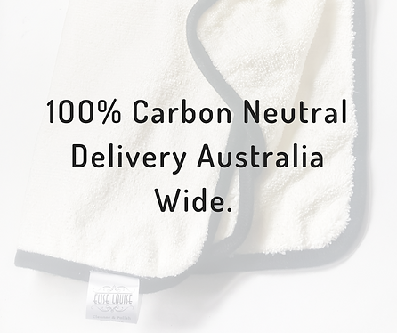 Carbon Neutral & Contact Free Delivery