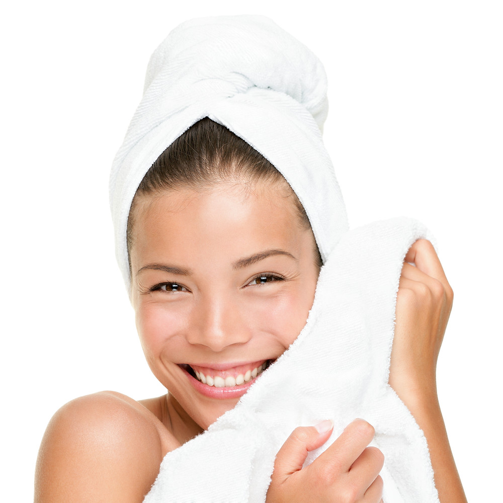 Exfoliate AND clean your face with microfibre cloths!