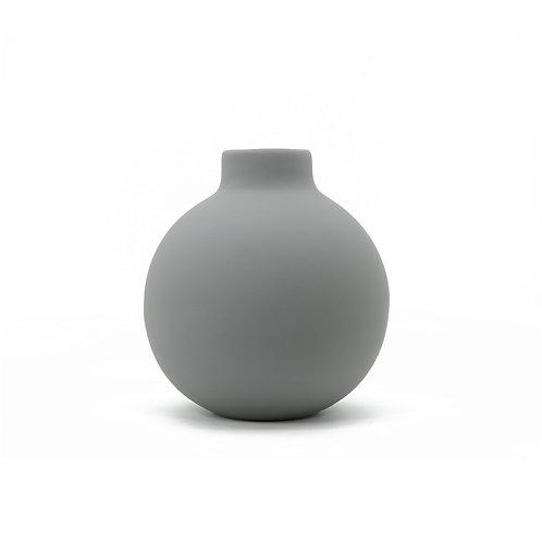 簡潔灰陶瓷花瓶