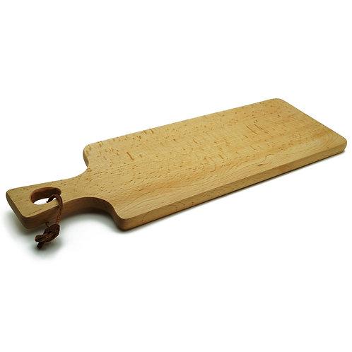 櫸木 北歐風 麵包板 花盤