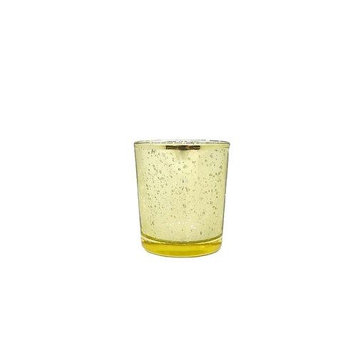 金色雪花玻璃杯