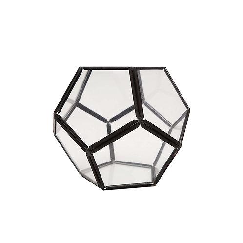 玻璃五角形花器