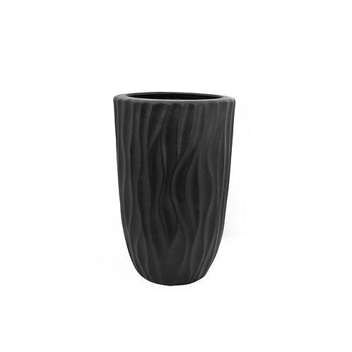 扭紋陶瓷花瓶