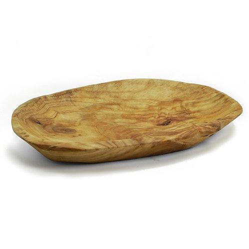 精緻 原木 木質花盤