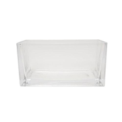 長方形透明花盤