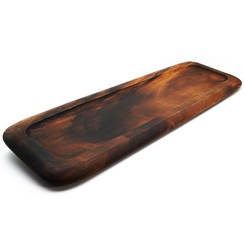 木質麵包盤 花盤