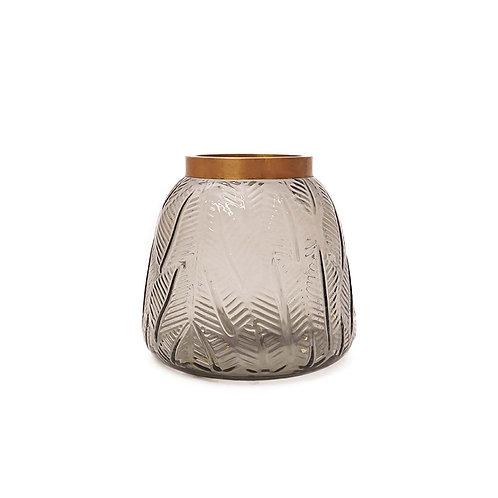 玻璃花紋花瓶