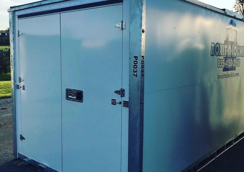 Boxit-N-Lockit Portable Self Storage
